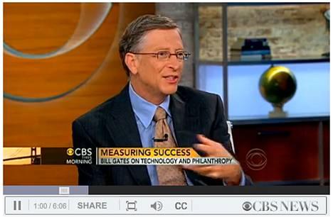 Bill Gates ei ole tyytyväinen Microsoftin nykyasemiin tietokoneteollisuuden tulevassa kehityksessä.