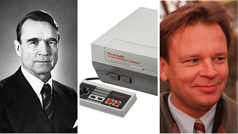 Jari Komulainen esitteli presidentti Koivistolle aikansa hittipelin, Nintendon.