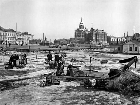 3. Eteläsatama vuonna 1907.