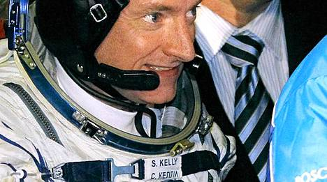 Scott Kelly on kansainvälisen avaruusaseman komentajana.