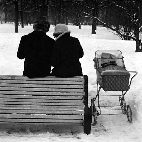 Mitshurinskin puutarha, Leningrad 1975
