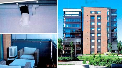Lämpöpumpun asentaminen aiheutti taloyhtiön ja osakkaan välille 65 000 euron arvoisen riidan.