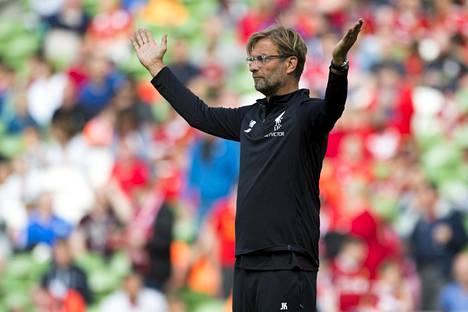 Jürgen Klopp haluaa pitää Philippe Coutinhon Liverpoolissa.