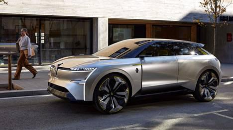 Renault'n tulavaisuuden mallien muotoilusta antaa viitteitä Morphoz.
