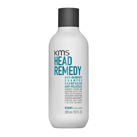 KMS Head Remedy Anti-Dandruff Shampoo, 26 € / 300 ml, mm. Hairlekiini ja Lookfantastic.fi.