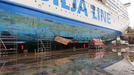 Tiesitkö, että laivassakin on siivet? Tältä näyttävät ruotsinlaivan erikoiset yksityiskohdat