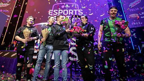 HAVU Gaming voitti TES-liigan toisen kauden finaalit GameXpo-tapahtumassa syksyllä 2019.