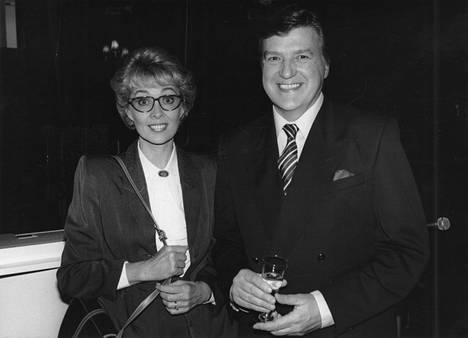 Tuomarila ja Lind vuonna 1989.