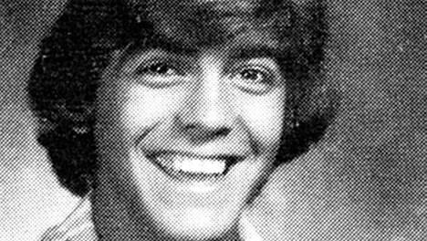 George Clooney vuonna 1977.