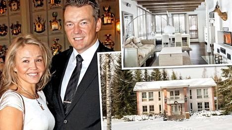 Ilta-Sanomat kertoi 26.2. parin avioerosta. Nyt yhteinen talo on pistetty myyntiin.