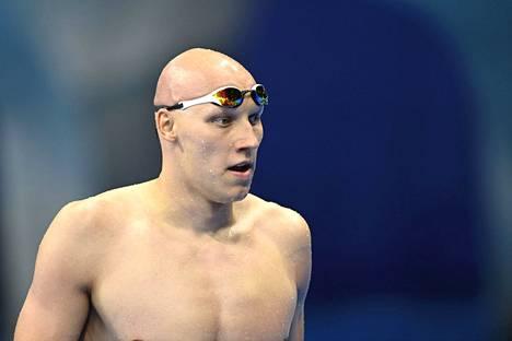 Matti Mattsson on huokunut vahvaa itseluottamusta läpi kisojen. Hän on vasta kolmas suomalainen uinnin olympiafinaaleissa 2000-luvulla.