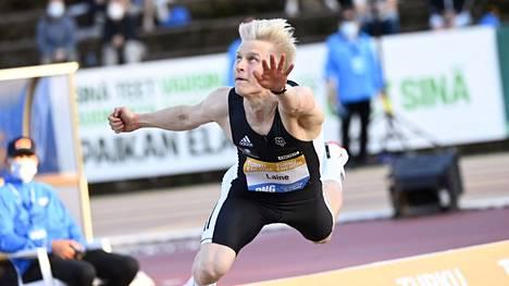 Topias Laine on 2000-luvun toinen suomalainen keihäänheiton nuorten EM-kultamitalimies.