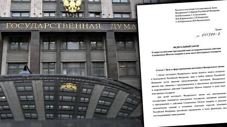 Vaikka kyse on vasta ehdotuksesta, aiempien lakihankkeiden perusteella on tiedossa, että Venäjällä on mahdollista saada suurikin lakimuutos läpi vain viikoissa.