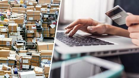 Jatkuva uuden ostaminen on massiivinen globaali ongelma. Verkkokaupat ovat tehneet shoppailusta vielä paljon aiempaa helpompaa. Arkisto- ja kuvituskuvaa.