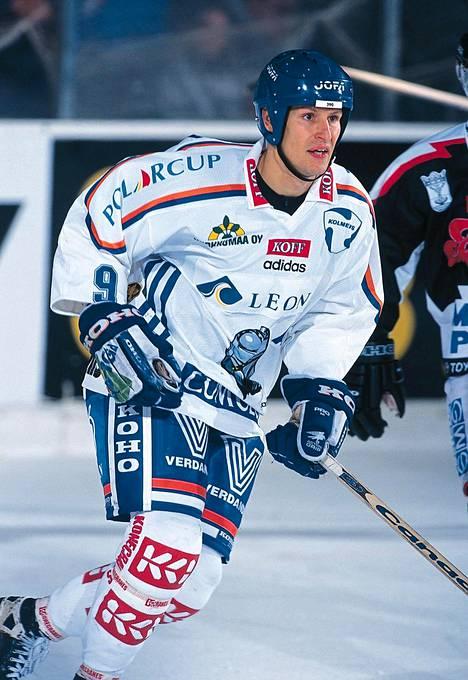 Juha Virtanen aktiiviaikoinaan.