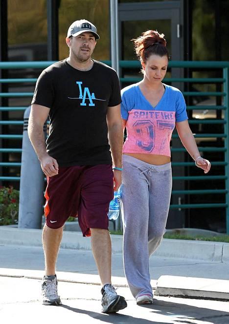 Britney Spears ja David Lucado.
