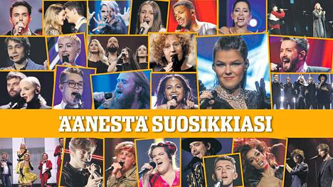 Ketkä ovat sinun mielestäsi euroviisujen finaalin parhaat? Äänestä täällä