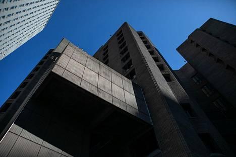 Jeffrey Epsteiniä pidettiin Metropolitan Correctional Center -vankilassa.