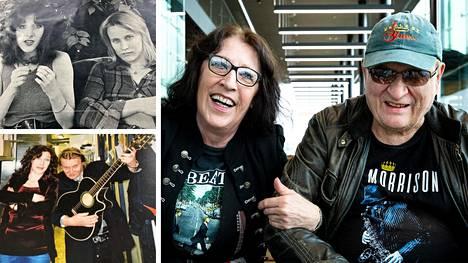 Muska Babitzin ja Hande Salakka ovat pitäneet yhtä vuodesta 1971. Pian he ovat myös aviopari.