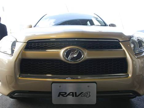 Toyotan RAV4-malli.