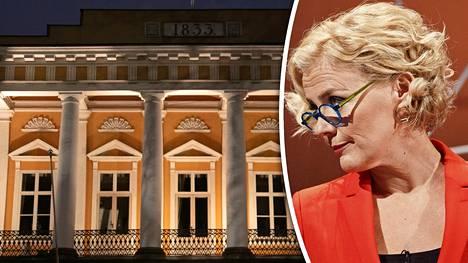 Bettina Sågbom ei ymmärrä Åbo Akademin ratkaisua.