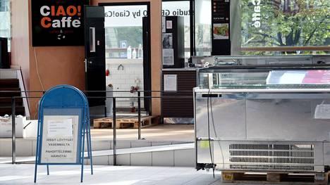 Koronaepidemia on ajanut muun muassa vuonna 2005 perustetun Ciao Caffe -kahvilaketjun konkurssiin.