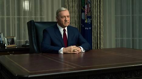 Frank Underwood (Kevin Spacey) jatkaa taistelua Valkoisen talon herruudesta.