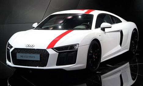 Audi R8 V10 RWS.