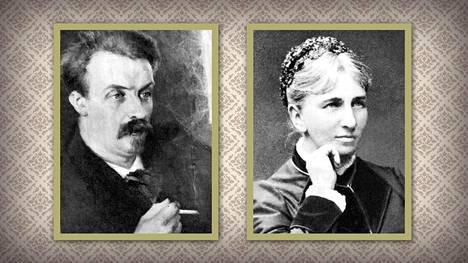 Juhani Ahon suhde ystäviensä äitiin, 22 vuotta vanhempaan Elisabet Järnefeltiin katkaisi Ahon ja Minna Canthin ystävyyden.