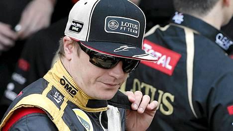 Kimi Räikkönen ei yltänyt palkintopallille tallipäälliköiden äänestyksessä.