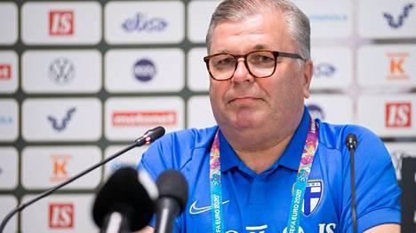 Ari Lahti kuvattuna Suomen joukkueen harjoituskeskuksessa Terijoella eli Zelenogorskissa 8.6.2021.