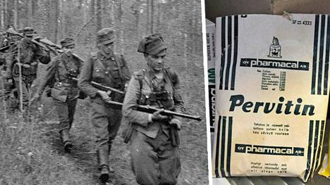 """Kaukopartioissa käytettiin saksalaisten """"ihmelääkettä"""" Pervitiniä."""
