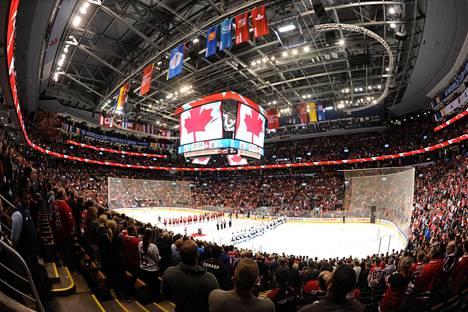Toronton Air Canada Centressä pelataan parhaillaan World Cupin finaaleja.