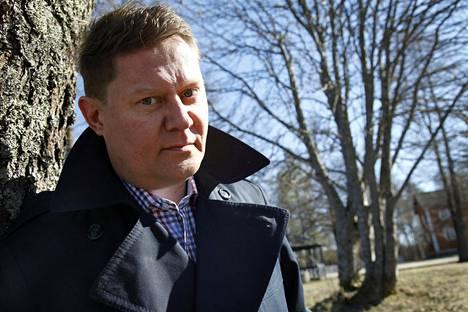 Pertti Salovaara 2014, jolloin hän julkaisi runokirjan.