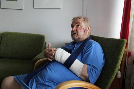 Pekka Kataja kertoo olleensa jonkin aikaa taju kankaalla.