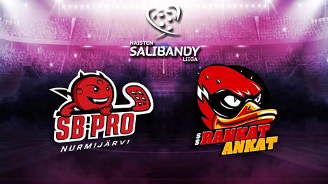 Katso naisten Salibandyliigan huippuottelu SB-Pro-SSRA suorana ISTV:ssä!