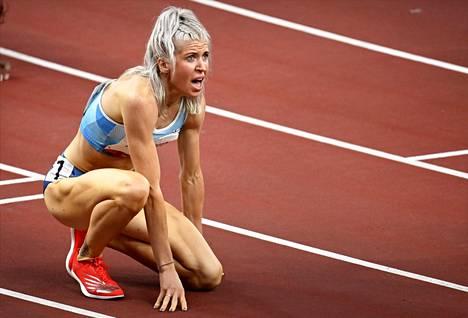 Koville se otti, mutta Sara Kuivisto alitti upeasti kahden minuutin haamurajan olympialaisten välierissä.