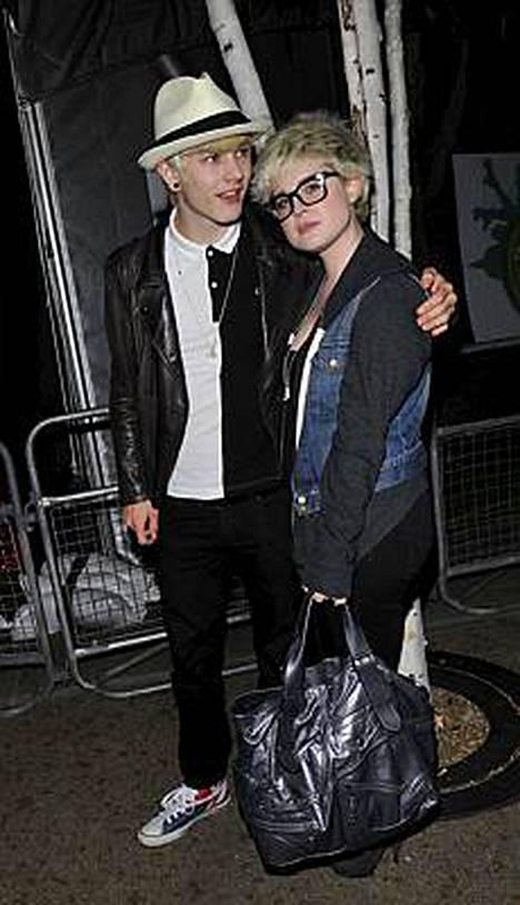 Luke Worrall ja Kelly Osbourne ovat tuttu näky Lontoon yössä.