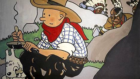 Tintti-albumin kanteen päätynyt piirros vuodelta 1932 huutokaupattiin Pariisissa 1,3 miljoonalla eurolla.