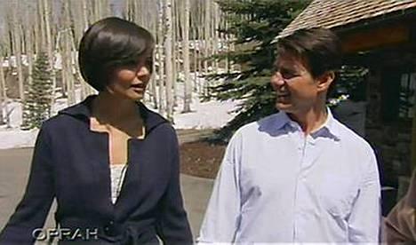 Katie Holmesin ja Tom Cruise avioliitto voi hyvin.