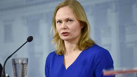 Tiede- ja kulttuuriministeri Hanna Kosonen.