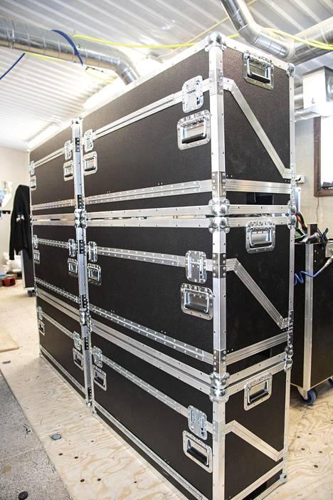 Case Makersin roudauslaatikoita käyttää muun muassa Stamina-yhtye.