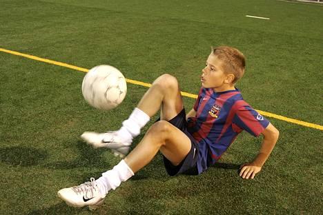 Robert Taylor oli jo lapsena poikkeuksellinen pallolahjakkuus.