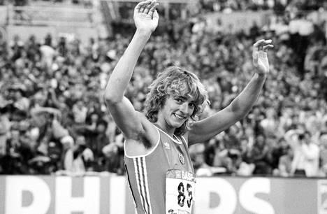 Heike Drechsler voitti urallaan mm. kaksi olympiakultaa ja kaksi MM-kultaa.