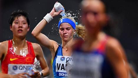 Alisa Vainio selvisi Dohan tuskien taipaleesta kunnialla.