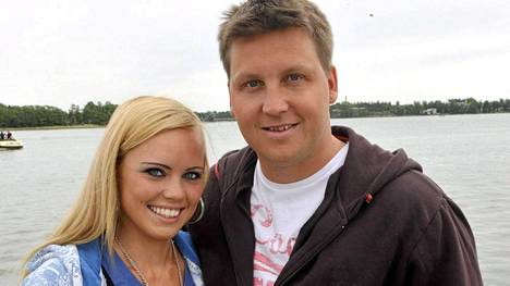 Jani ja Mari Sievinen tapasivat vuonna 2006.