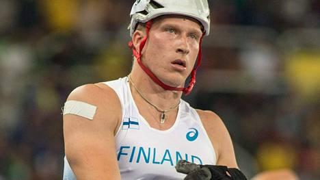 Leo-Pekka Tähti taistelee tiistai-iltana 200 metrin ratakelauksen MM-finaalissa.