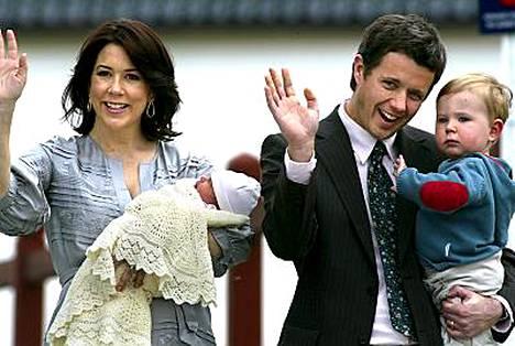 Australialaisten mielestä prinssi Christianin pikkusisarelle hyvä nimi olisi prinsessa Kylie.