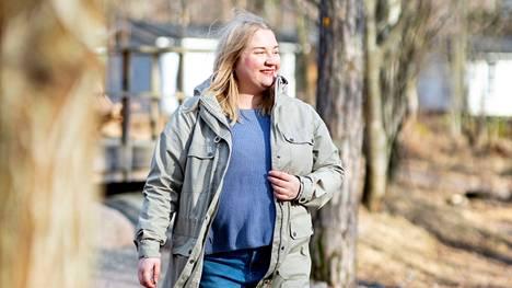 Elsa Heiko harrastaa retkeilyä, ja kokovalikoiman suppeus oli hänelle aluksi järkytys.