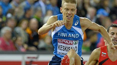 Jukka Keskisalo taisteli pistesijoille estejuoksun EM-finaalissa.